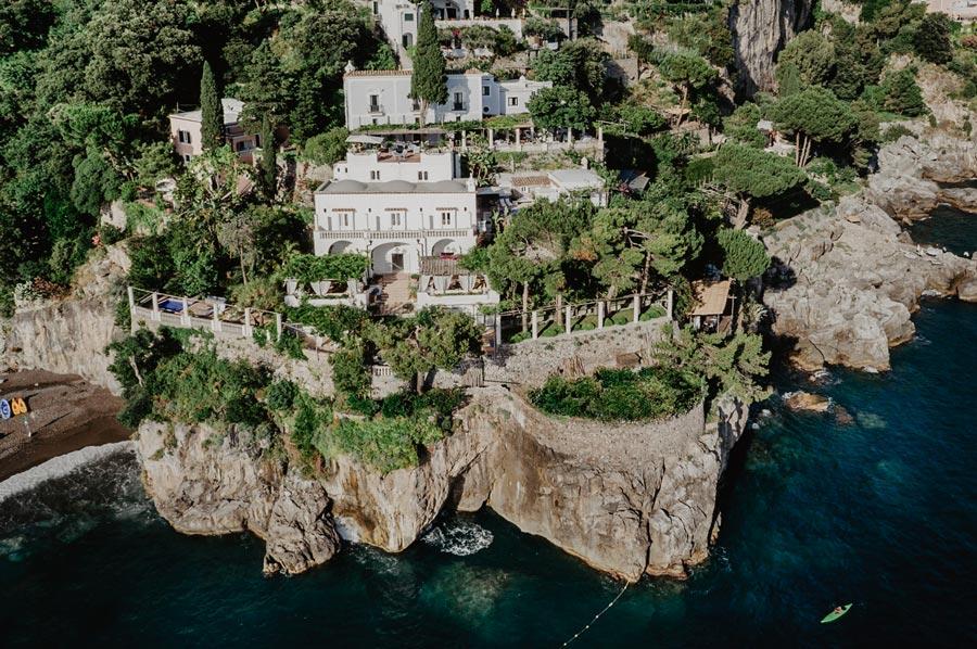 Destination wedding in Villa Tre Ville, Positano