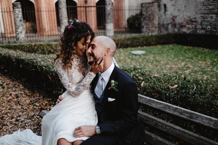 Un matrimonio intimo, ospita di abitudine circa 10 invitati.
